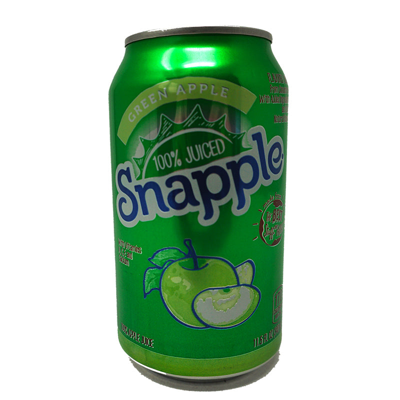 Snapple Juice - Green Apple (Dose) (340 ml)