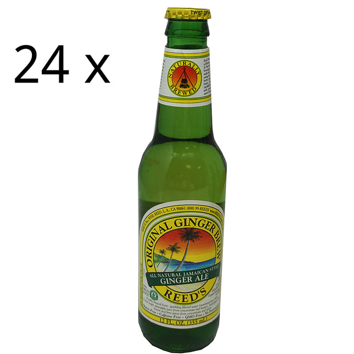 Reed's Jamaican Ginger Ale Original (355 ml) 24er