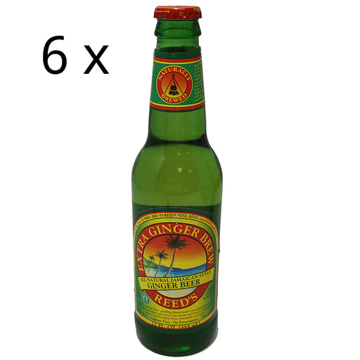 Reed's Jamaican Ginger Beer Extra (355 ml) (6er)