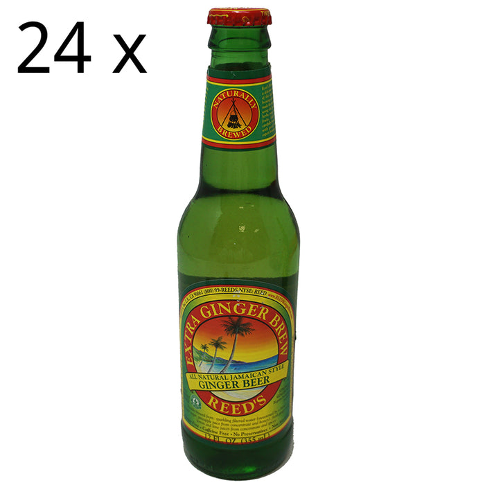 Reed's Jamaican Ginger Beer Extra (355 ml) (24er)
