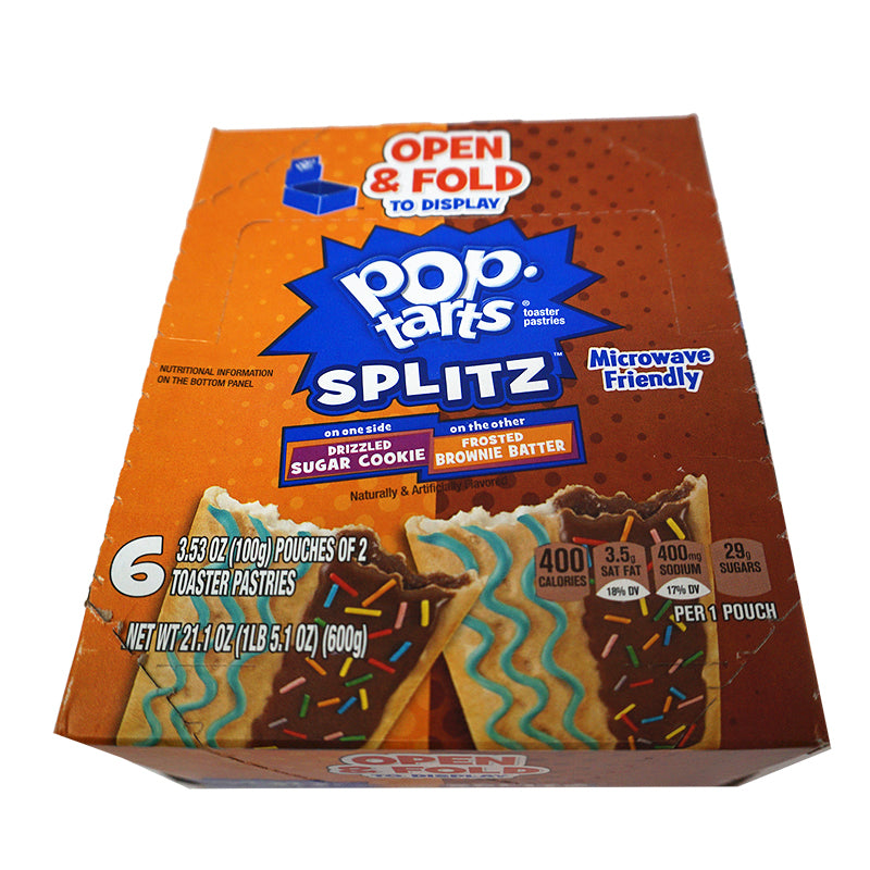 Kellogg's Pop Tarts Splitz Cookie&Brownie (6er)