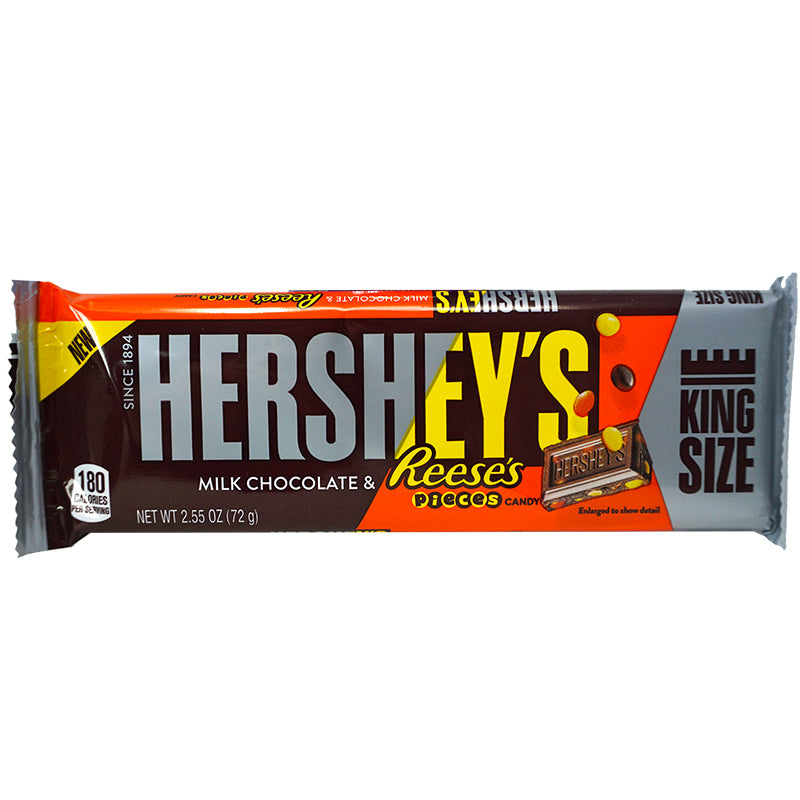 Hershey's Bar Milk Choc & Pieces KS (72 g)