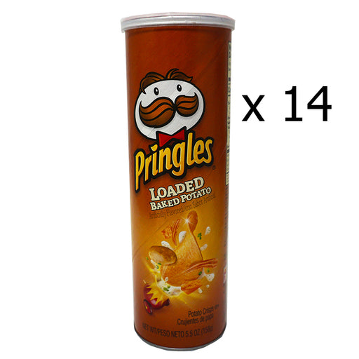 Pringles Baked Potato Loaded (158 g) (14er)