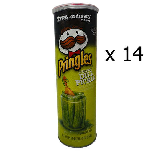 Pringles Screamin Dill Pickle (158 g) (14er)