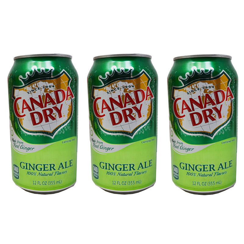 Canada Dry Ginger Ale (Dose) (355 ml) (3er)