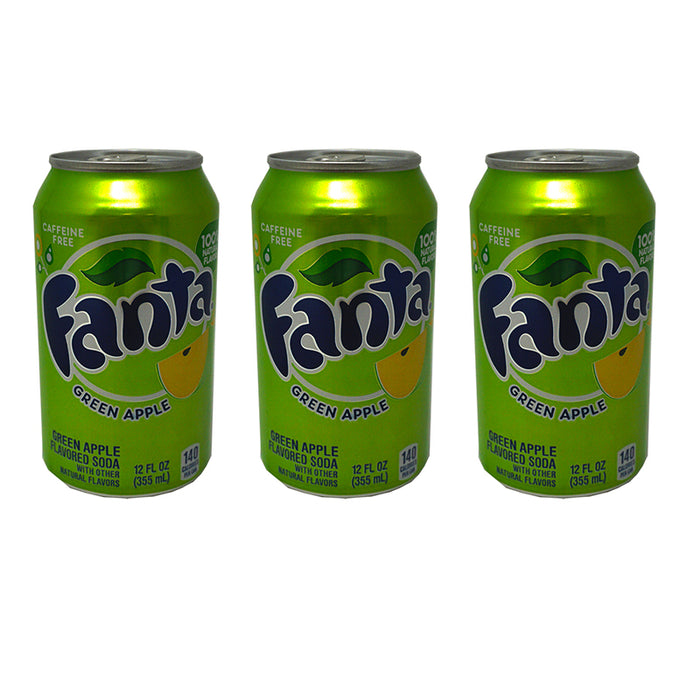 Fanta Green Apple (Dose) (355 ml) (3er)