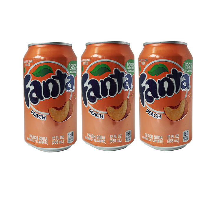 Fanta Peach (Dose) (355 ml) (3er)