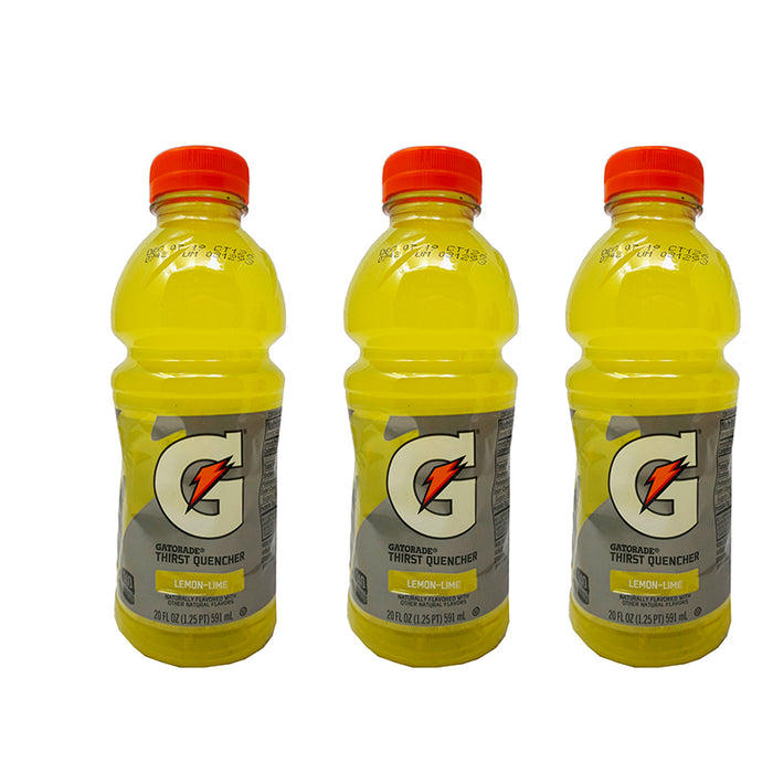 Gatorade Lemon Lime (591 ml) (3er)