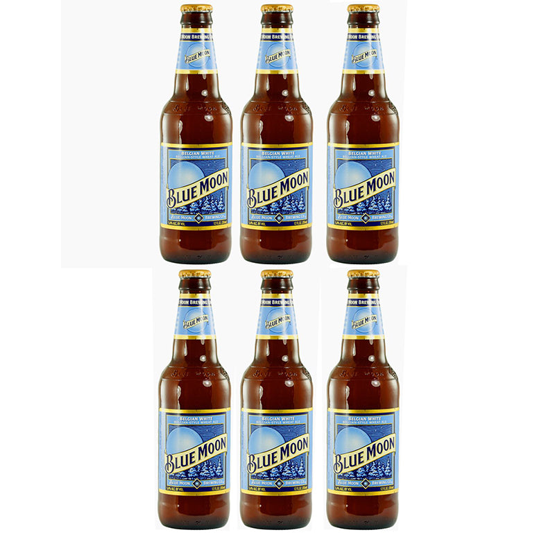 Blue Moon Belgian White (Flasche) (355ml) (6er)