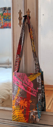 Printed Canvas Bag