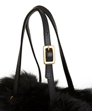 Load image into Gallery viewer, Tie Shopper - S / Black Shearling & Black - (ki:ts)