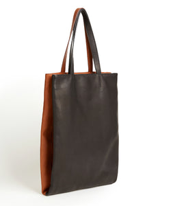 Twins Shopper / Black & Whisky - (ki:ts)