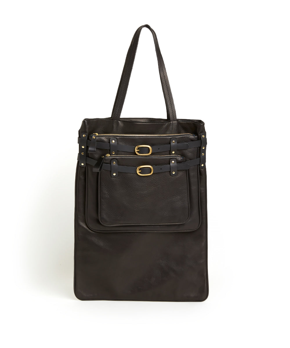 3 Layered Shopper / Black - (ki:ts)