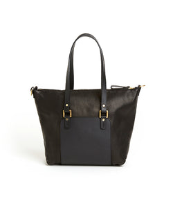 Contrast Bag / Black - (ki:ts)