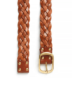 Plait 510 Belt / Tan - (ki:ts)