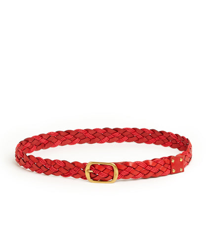 Plait 510 Belt / Red - (ki:ts)