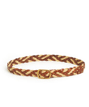 Load image into Gallery viewer, Plait 510 Belt / Tan & Cream Mix - (ki:ts)