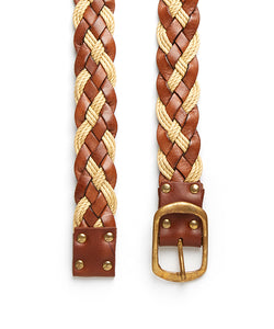 Plait 510 Belt / Tan & Cream Mix - (ki:ts)