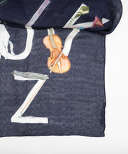Load image into Gallery viewer, Scarf / ABCS Marine / Navy & Multi / CU274 - SWASH LONDON