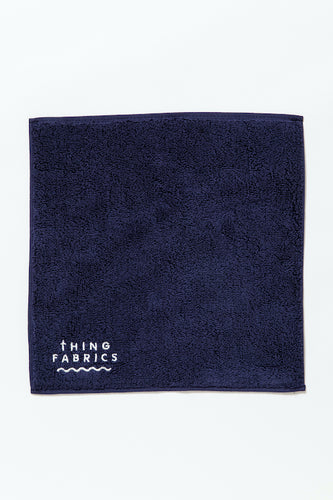 TIP TOP 365 TOWEL / Navy - THING FABRICS