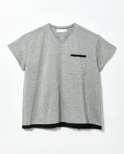 Women's Square Cut T-shirt - M / Grey - triaa