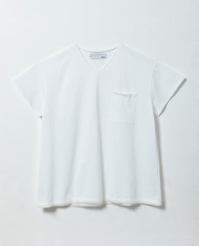 Women's Square Cut T-shirt - M / White - triaa
