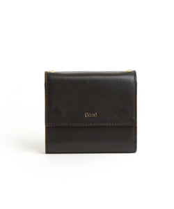 Contrast Wallet / Black - Sunflower - (ki:ts)