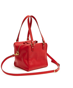 Cube Bag Soft - M / Cherry Red - (ki:ts)