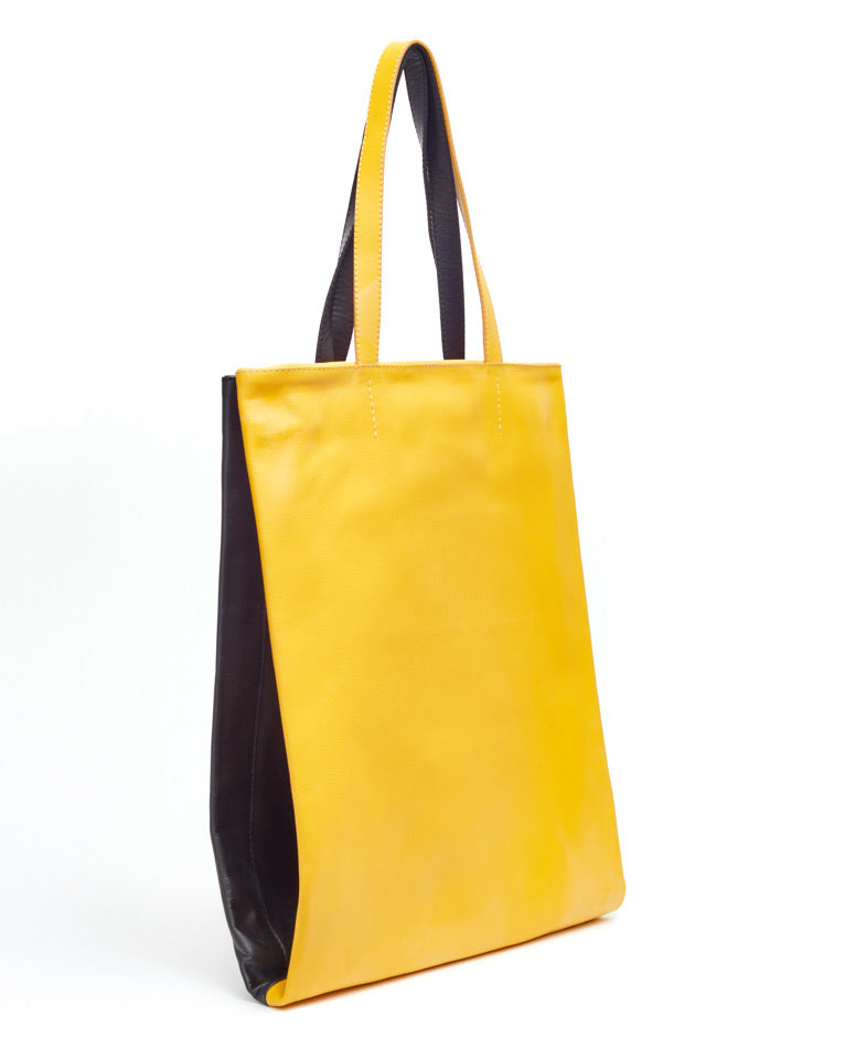 Twins Shopper / Sunflower & Black - (ki:ts)