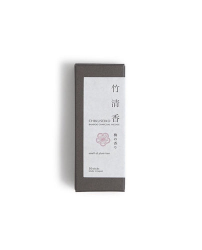 Chikuseiko Charcoal Incense - Short / Plum Tree - Kohchosai Kosuga