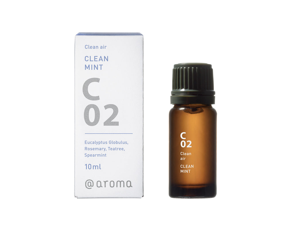 C02 CLEAN MINT Essential oil 10ml - @aroma