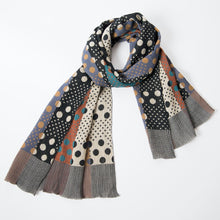 Load image into Gallery viewer, Pools of Light Scarf / Grey - NUNO
