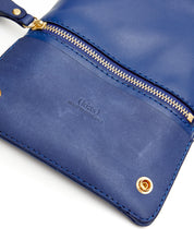 Load image into Gallery viewer, Fold Purse with shoulder strap / Estate Blue - (ki:ts)