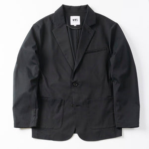 Mens Tailored Light JKT(no lining) / Black - WWS (WORK WEAR SUIT)