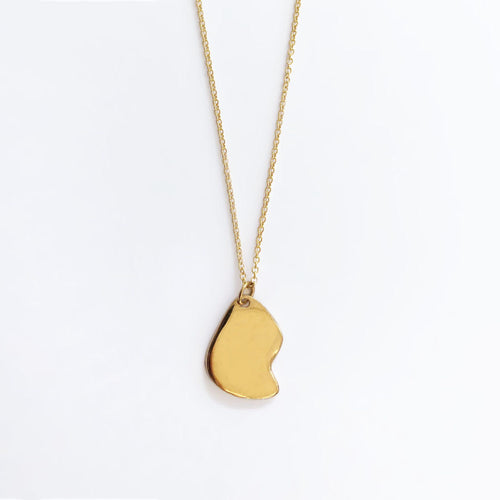 FRAGMENT NECKLACE / GOLD - BAR JEWELLERY
