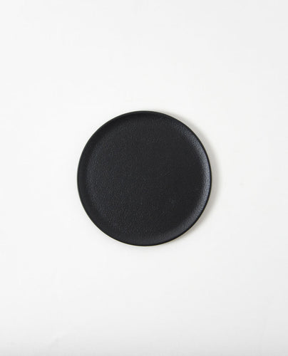Round Tray / black large - Sumitani Saburo Shoten