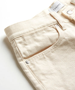 Dad Jean Crop Trousers - TANAKA