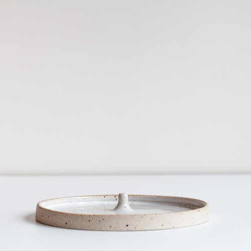 INCENSE HOLDER / SPECKLED - DOR & TAN
