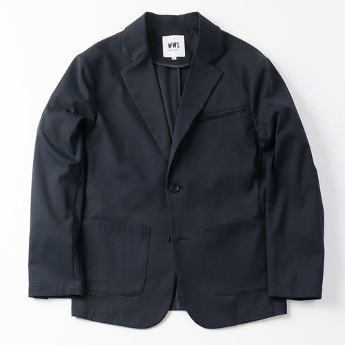 Mens Tailored Light JKT(no lining) / Dark Navy - WWS (WORK WEAR SUIT)