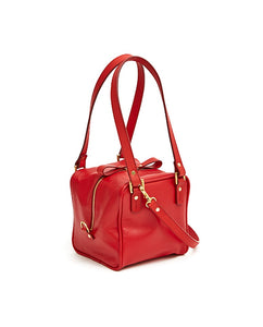 Cube Bag Soft - S / Cherry Red - (ki:ts)