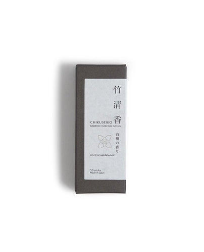 Chikuseiko Charcoal Incense - Short / Sandalwood - Kohchosai Kosuga