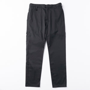 Full Length Straight Pants / Black - WWS (WORK WEAR SUIT)