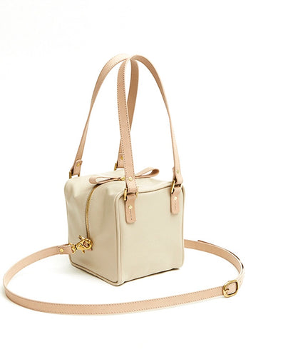 Cube Bag Soft - S / Cafe Latte - (ki:ts)