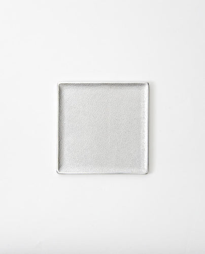 Square Tray / silver large - Sumitani Saburo Shoten