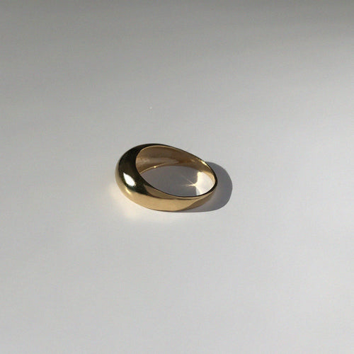 ORB RING -M / GOLD - BAR JEWELLERY