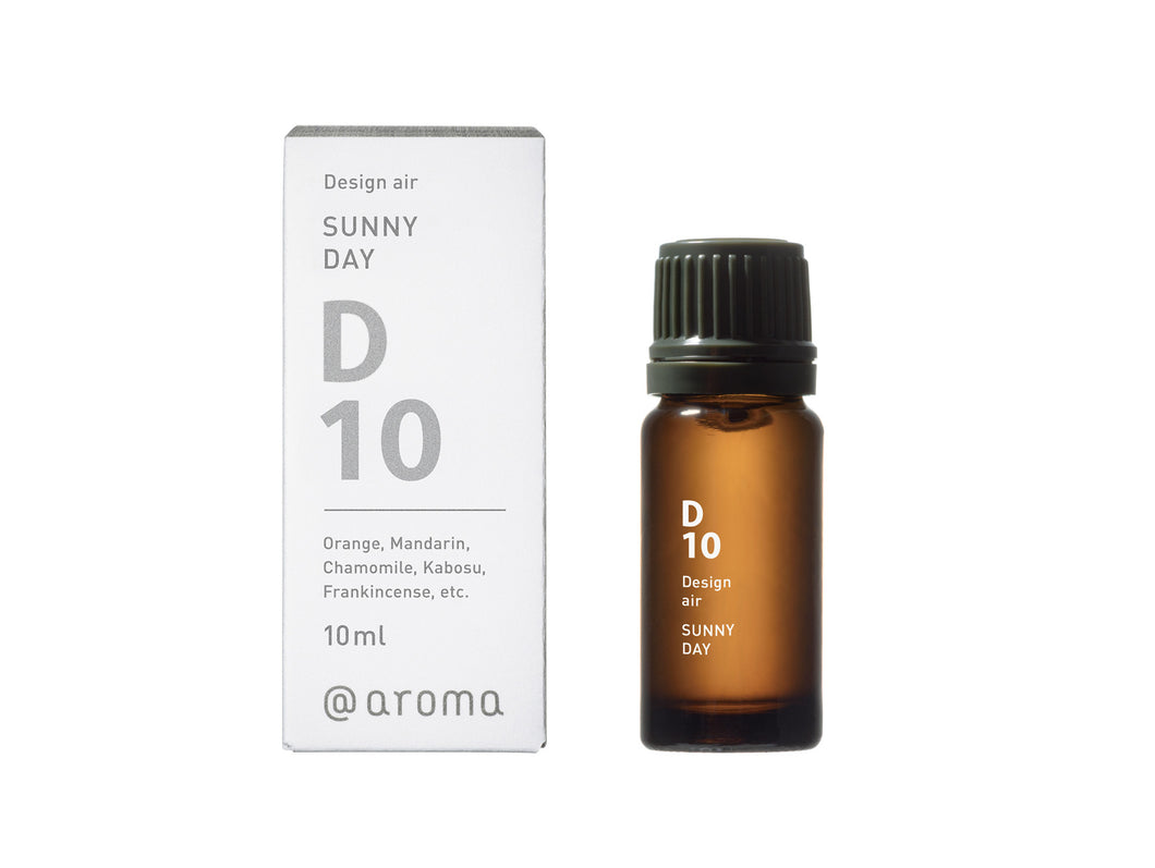D10 SUNNY DAY Essential oil 10ml - @aroma