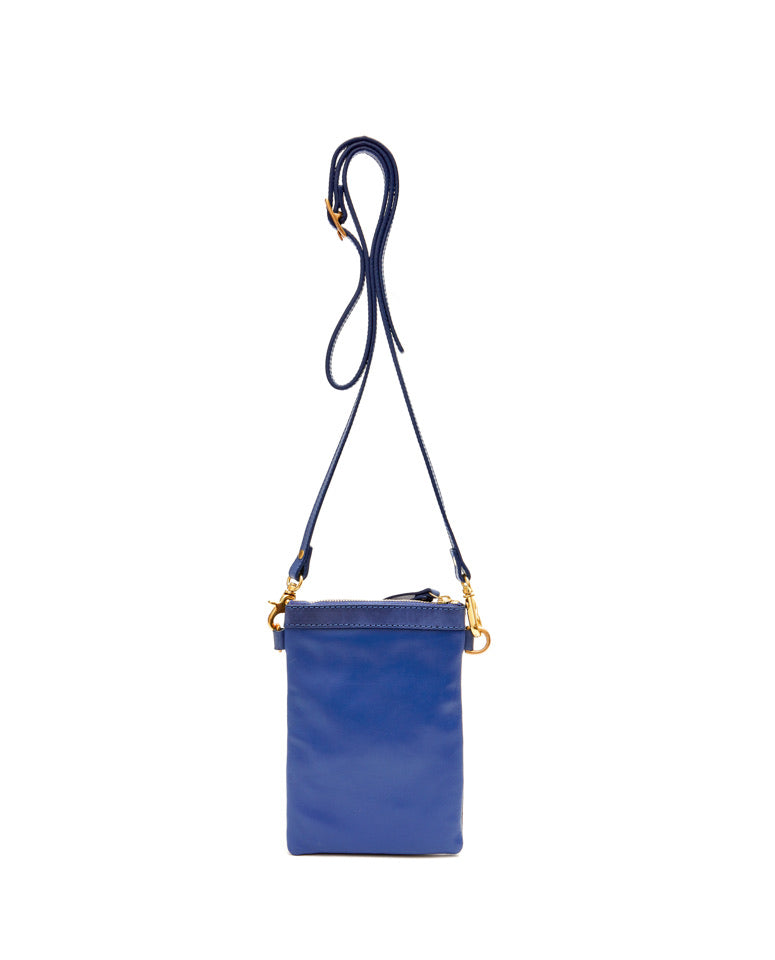 Fold Purse with shoulder strap / Estate Blue - (ki:ts)