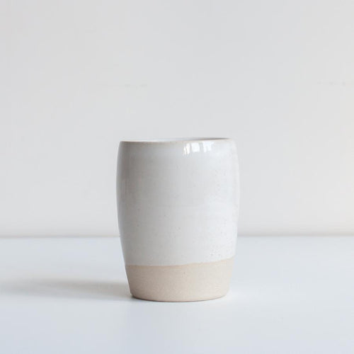 TUMBLER / WHITE - DOR & TAN