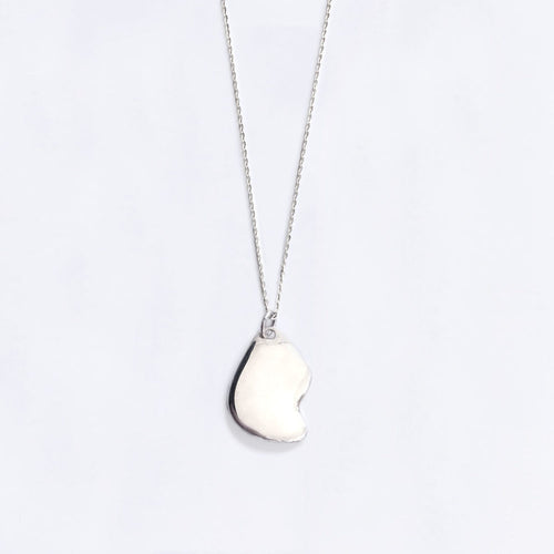 FRAGMENT NECKLACE / SILVER - BAR JEWELLERY