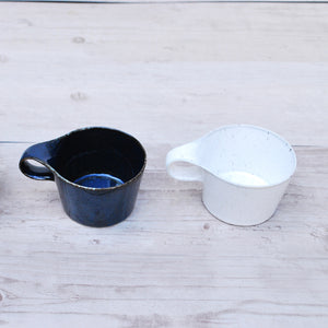 Stamug mini mug / Reactive Indigo Blue - miyama x metaphys